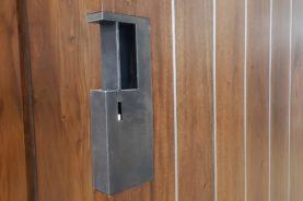 Steel Pocket Door Pull