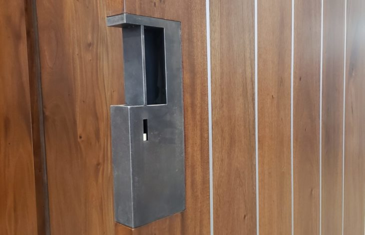 Steel Pocket Door Pull