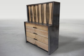 Ross Peak Furniture The Bone Highboy Dresser