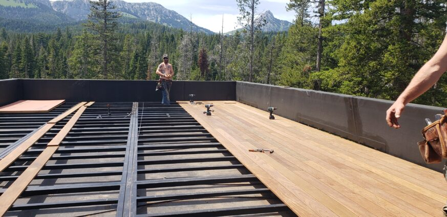 Ross Peak Deck Scuppers