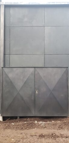 ross peak siding rainscreen metal panels