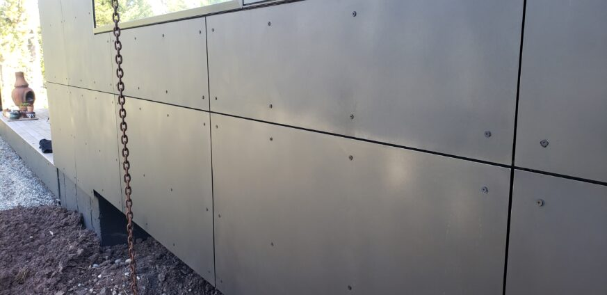 Ross Peak Metal Panel Siding System
