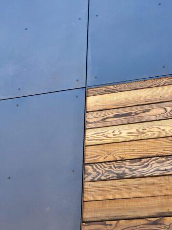 Metal to Wood Horizontal Flashing Drip Edge
