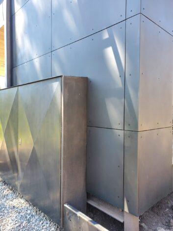 Metal to Metal Outside Corner Utility Box Enclosure