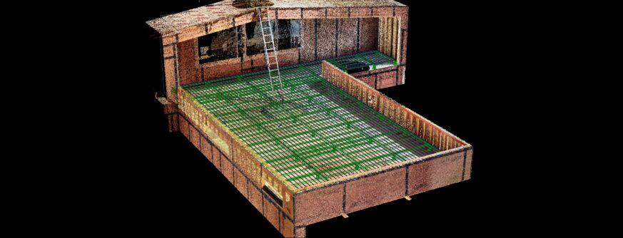 Ross Peak Deck System Laser Scan