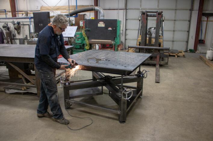 Welding Crank Table