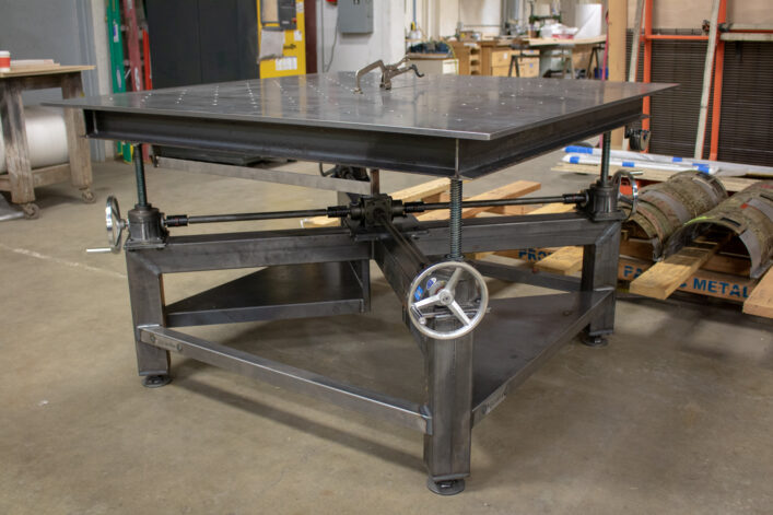 Welding Crank Table