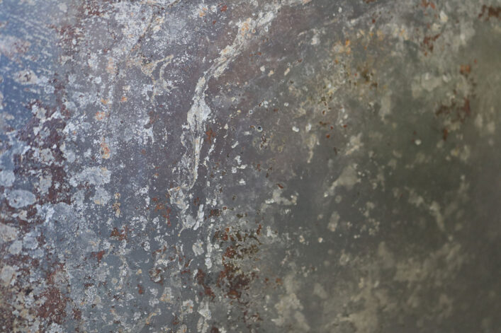 Charcoal Etched Stainless Patina