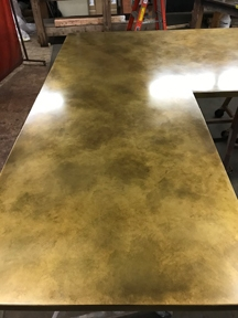 Teton Brass Countertop