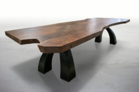 Big Walnut Wishbone Table