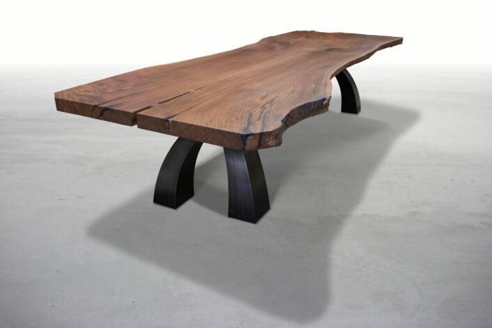 Big Walnut Wishbone Table