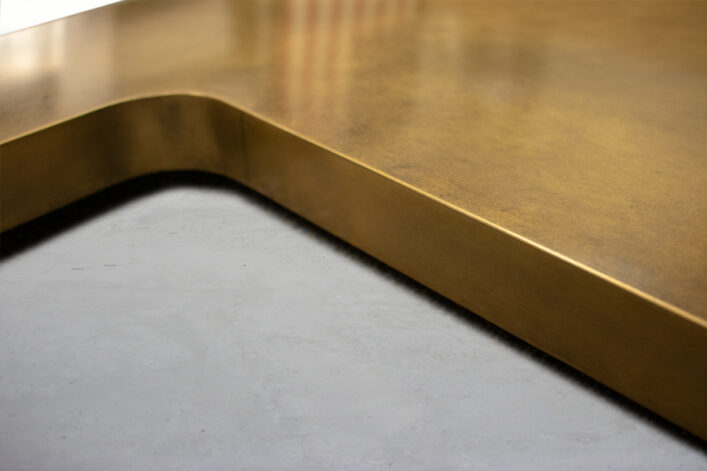 Teton Brass Undermount SinkCountertop