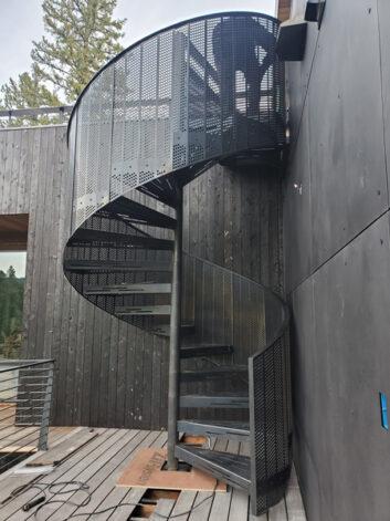 Ross Peak Spiral Staircase