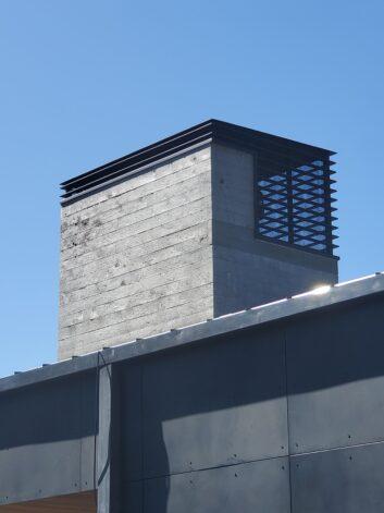 modern chimney cap Ross Peak