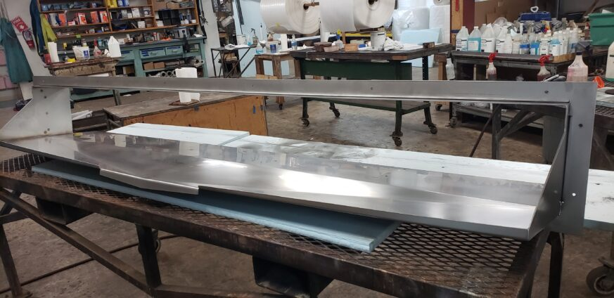 Stainless Steel Scupper Fabrication