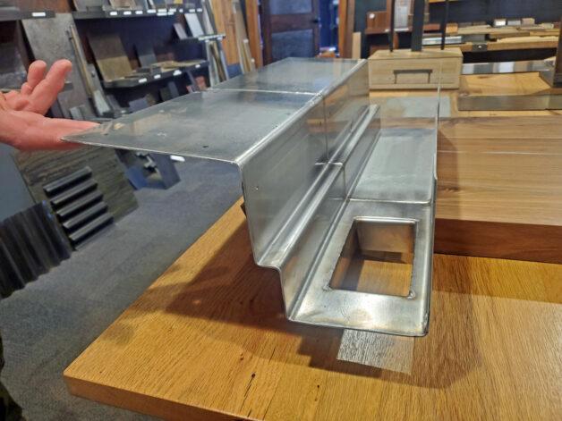 Stainless Steel Formed Gutter