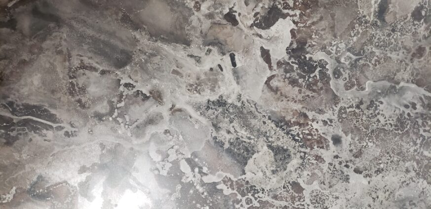 Marbleized Stainless